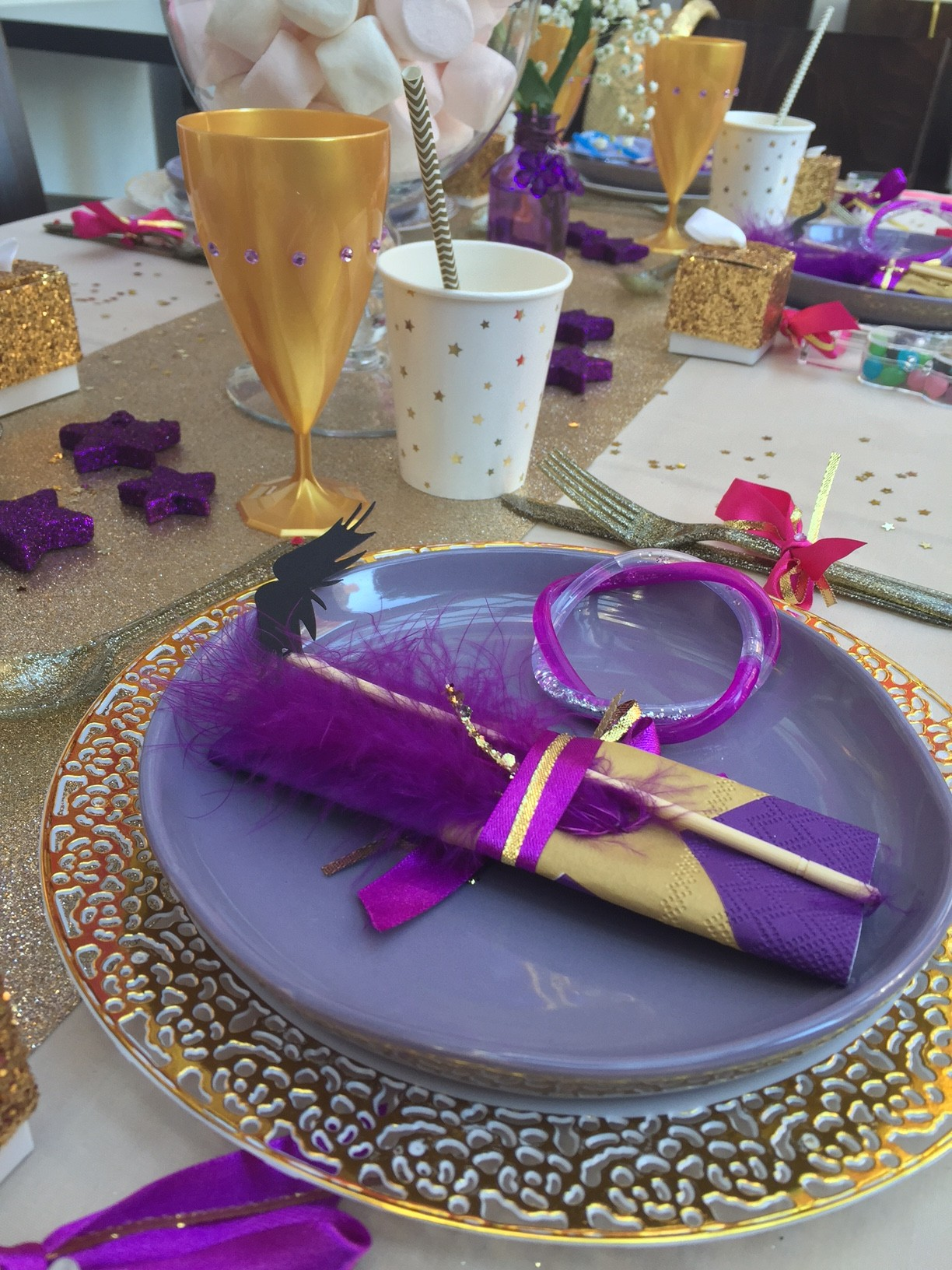 Luxury kids birthday party