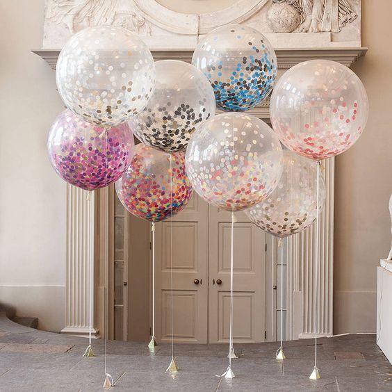 photos with balloons