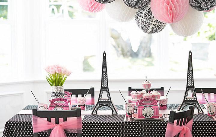 Paris theme party birthday